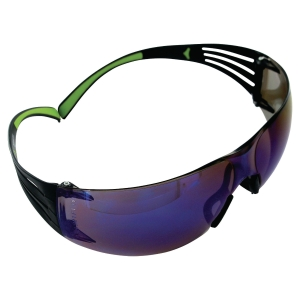 Skyddsglasöga 3M Securefit 400 blå spegelreflex