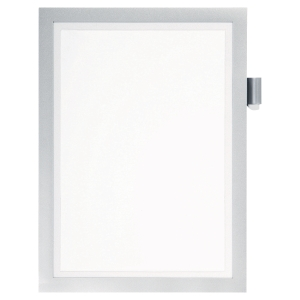 Durable Duraframe Self-Adhesive Note A4 Silver