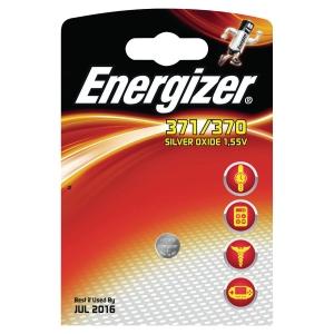 Batérie Energizer, typ 371/370, 1 ks v balení