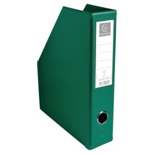 Porte-revues pliable Exacompta - dos 7 cm - vert