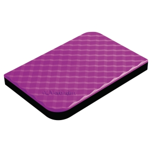 VERBATIM 53212 2.5  PORTABLE HDD HARD DISC DRIVE PURPLE