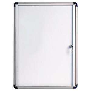 VITRINE EXTRA PLATE A FOND MAGNETIQUE BI-OFFICE 4 FEUILLES A4