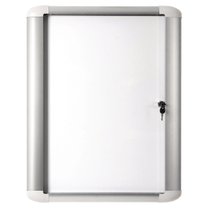 Vitrina para exterior BI-OFFICE de vidro com fundo magnético para 9 folhas A4