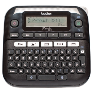 Brother P-touch D210VP professioneel etiketteertoestel Azerty