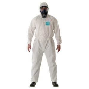 Beskyttelsesdragt Ansell Microgard 2000 std 111 62/64 (XXL) hvid