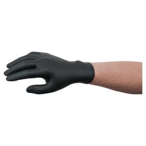 Rękawice nitrylowe ANSELL MICROFLEX 93-852, czarne, rozmiar L (8,5-9), 100 sztuk