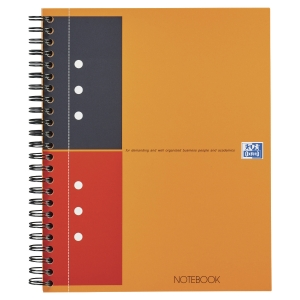 Cahier spirale Oxford Notebook A5+ - 160 pages - ligné