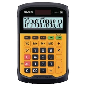 CALCULATRICE DE BUREAU CASIO 12 CHIIFRES WM-320MT
