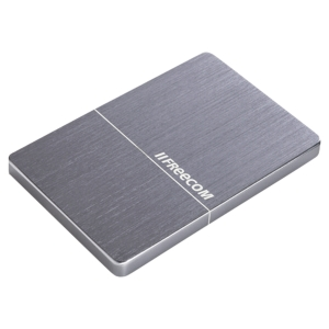 Disque dur ultra plat portable FREECOM mHDD- 1To USB 3.0 gris sidéral