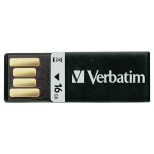 CLE USB VERBATIM 2.0 CLIP-IT 16GO NOIRE
