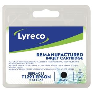 CARTOUCHE JET D ENCRE COMPATIBLE LYRECO POUR EPSON T1291 NOIR