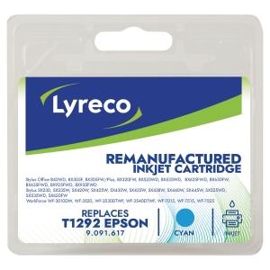 Cartouche jet d encre remanufacturée Lyreco pour Epson t1292 cyan