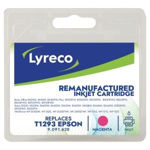 Cartouche jet d encre remanufacturée Lyreco pour Epson t1293 magenta
