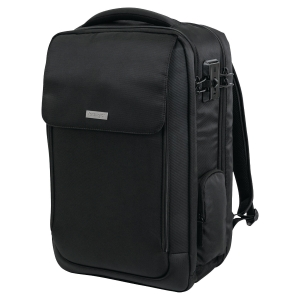 Kensington Notebook-Rucksack Overnight SecureTrek™ 17'' Laptop, schwarz