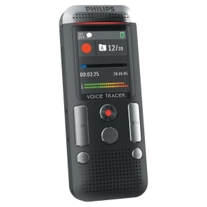 Philips DVT2510 Dig Voice Tracer Note Taker