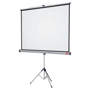 NOBO TRIPOD PROJ SCREEN 150X100 16:10