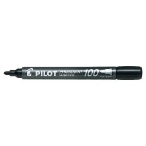 Marqueur permanent Pilot 100 pointe ogive noir