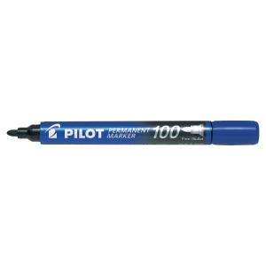 Pilot SCA 100 permanente marker ronde punt blauw