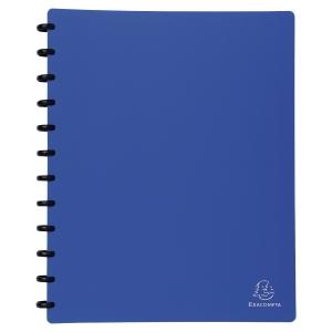Sichtbuch Exacompta 86362E A4, 30 Taschen, blau
