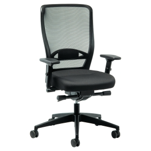 Prosedia Younico 3476 chair with synchrone mechanism black