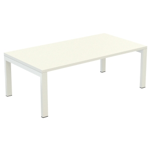 TABLE DE RECEPTION EASYDESK 114X60CM BLANC