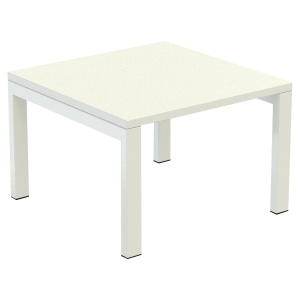 TABLE DE RECEPTION EASYDESK 60X60CM BLANC