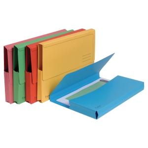 Dokumentmappe Exacompta Forever, assorterte farger, pakke à 10 stk.