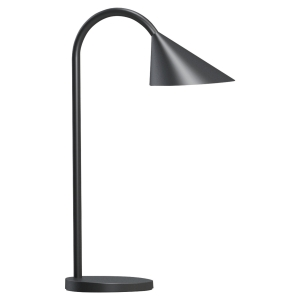 Bordlampe Unilux Sol LED, sort