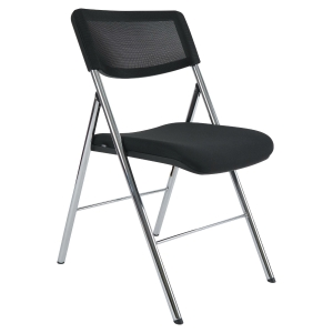 Alba CP Diva folding chair in mesh black