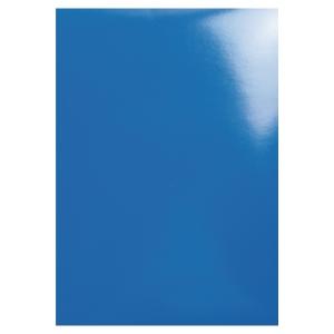 Exacompta glossy schutbladen blauw - pak van 100