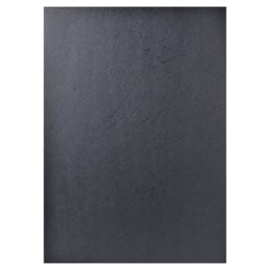 Exacompta Leathergrain Binding Covers Black - Box of 100