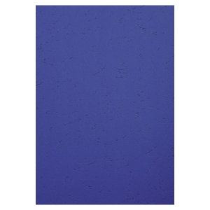 Exacompta Leathergrain Covers Dark Blue Bx100
