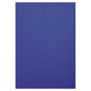 Umschlagdeckel Exacompta 2790C Lederstruktur A4, 270 g/m2, blau, Pk. à 100 Stk.