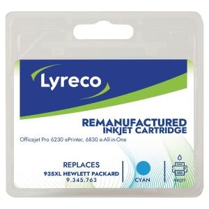 LYRECO kompatible Tintenpatrone HP 935XL (C2P24A) cyan
