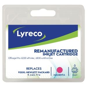 LYRECO kompatible Tintenpatrone HP935XL (C2P25AE) magenta