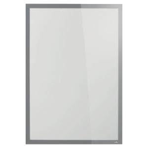 Durable Duraframe SUN 自動黏貼磁石框 A1 銀色
