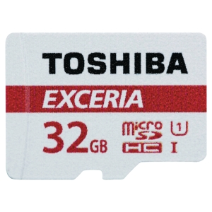 TOSHIBA Micro SD Speicherkarte EXCERIA M302, Kapazität 32 GB