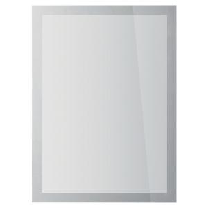 Cadre d affichage Durable Duraframe Sun - A4 - vitrostatique - argent - lot de 2