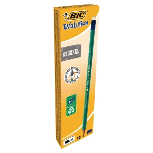 BIC 875764 EVOLUTION 655 PENCIL HB BOX OF 12