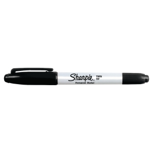 Sharpie Twin-Tip Permanent Marker Black