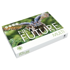 Multifunktionspapir New Future Multi A3 80 g kasse med 3 x 500 ark