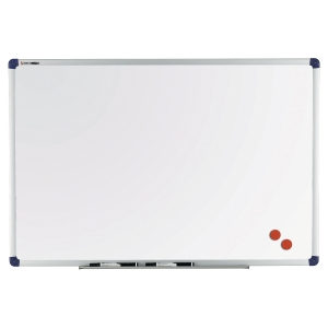 WHITEBOARD BI-OFFICE STÅLKERAMISK 100 X 120 CM