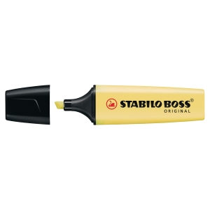 STABILO Boss Highlighter Pastel Yellow