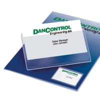 C10 BUSINESS CARD POCKET 3L - 9,5X6CM - APERTURA SUL LATO LUNGO