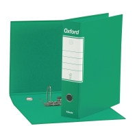 REGISTRATORE OXFORD F.TO COMMERCIALE 23x30x8CM IN CARTONE VERDE CON CUSTODIA