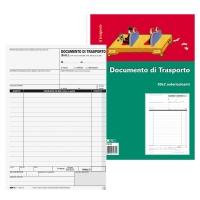 BLOCCO DOCUMENTO DI TRASPORTO EDIPRO 33X 3 FOGLI F.TO 15 X 23 CM