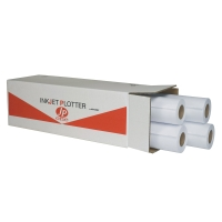 CONF. 4 ROTOLI CARTA PLOTTER OPACA JP ONE AS MARRI 80 G/MQ - 62,5 CM x 50 M