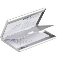 Portabiglietti da visita DUO tascabile durable - 10 biglietti formato: 90x55 mm