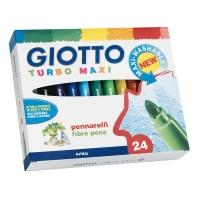 PENNARELLI GIOTTO TURBO MAXI PUNTA LARGE - CONF. 24