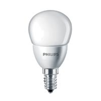 LAMPADINA LED SFERICA SMERIGLIATA E14 5,5W LUCE CALDA PHILIPS